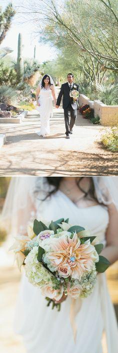 Springs Preserve Wedding Las Vegas   Meg Ruth Photo   Scheme Events   Enchanted Florist   Retro Bakery   Desert Wedding