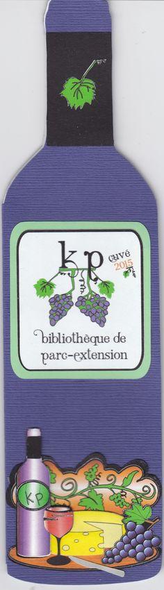 Carte-signet crée par Karole Lemieux