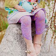 Take a look at the Lovely Lace Leggings event on #zulily today!