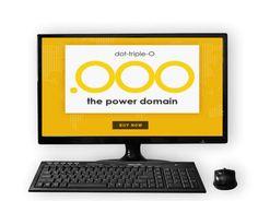 नई दिल्ली। अब आप अपनी वेबसाइट डोमेन नेम डॉट कॉम अथवा डॉट इन की जगह डॉट ट्रिपल ओ (.ओओओ) भी ले सकत