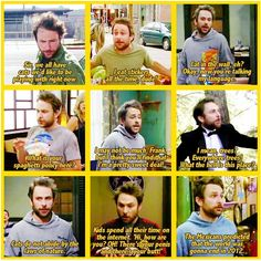 Sometimes I feel like Charlie and I share one mind. But then I remember. We definitely do not.