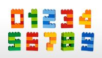 Build numbers out of LEGOS. This could be a good take home activity. Directions included!
