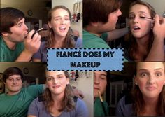 Fiancé Does My Makeup-YouTube Video