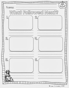 What Followed Next? - A retelling freebie for use with The Little Old Lady Who Was Not Afraid of Anything.