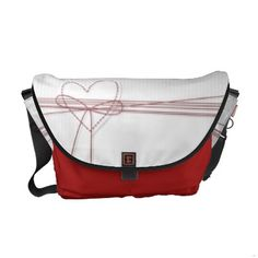 Two Hearts Courier Bags