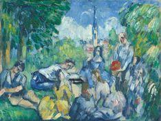Paul Cézanne - Le déjeuner sur l'herbe