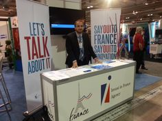 Michel Poirier, IFA Canada Director Business Development - Industries, Energy, Cleantechs at the Gas and Oil Expo in Calgary on June, 12th 2013 www.invest-in-france.org