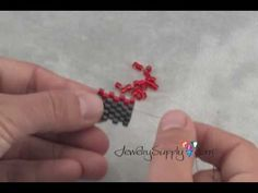 How to create an Odd Count Peyote Stitch