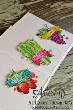 nice people STAMP!: Market Fresh Watercolour Cards: Stampin' Up! Artisan Blog Hop