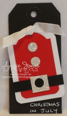 Christmas tag 2012