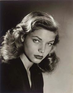"hollywood-portraits: ""Lauren Bacall photographed by Philippe Halsman, "" Golden Age Of Hollywood, Vintage Hollywood, Hollywood Glamour, Hollywood Stars, Hollywood Actresses, Classic Hollywood, Hollywood Lights, Humphrey Bogart, Lauren Bacall"