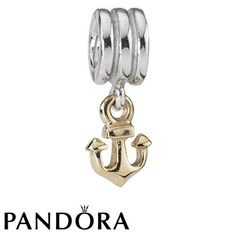 Pandora Anchor Charm 79424 #designerjewelry