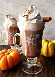Pumpkin Spiced Hot Chocolate | 23 Cocktails To Get You Through Thanksgiving  or any cold day for that matter.