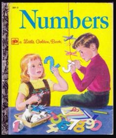 Numbers - Little Golden Book