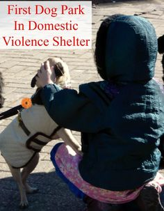 First Dog Park In Domestic Violence Shelter