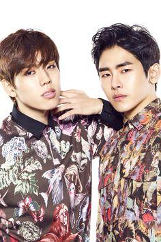 Dongwoo and Hoya #INFINITE