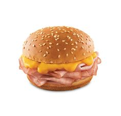 Arbys ham and cheddar. Hold the cheese and add mustard