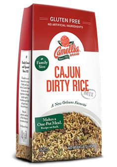 Our delicious new Cajun Dirty Rice mix makes this traditional Louisiana dish fast and easy to enjoy. Gluten-free with no artificial ingredients.