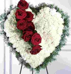 Image detail for -Funeral flowers with Funeral Wreaths, Hearts, & Crosses