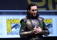 tom hiddleston/loki comic con 2013