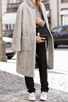 4 abrigos para da una imagen profesional en el trabajo
