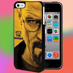 BREAKING BAD I AM THE DANGER FOR IPHONE AND SAMSUNG GALAXY CASE #PnY
