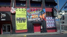 Glitterati Private Tours: Across the street from the hip and hot London Hotel, the always changing facade of The #Whisky A Go Go.  Other Rock & Roll hotspots nearby:  The Viper Room, The Roxy, The Rainbow Bar & Grill, The House of Blues and The Key Club.