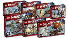 New LEGO Ninjago Sets for Spring Available Everywhere!