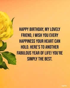 150 Of The Best Happy Birthday Quotes and Wishes - tiny Positive 150 Of The Best Happy Birthda. Best Happy Birthday Message, Happy Birthday Best Friend Quotes, Happy Birthday For Her, Happy Birthday Quotes For Friends, Happy Birthday Wishes Quotes, Happy Birthday Beautiful, Happy Birthday Prayer, Happy Birthday Wishes Friendship, Birthday Blessings