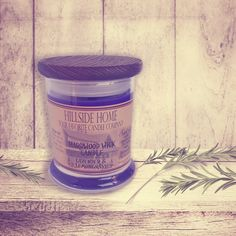 Calming lavender combined with citrusy lemongrass create a scent that will create a roomful of comfort, peace, and tranquility. #aromatherapy #candles