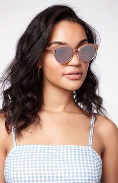 38a6fad306ba La Hearts Catmaster Cat-Eye Sunglasses - Rose Gold 1Sz Sunglasses Women