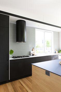 Kitchen - Indoor - Concepts by Gavin Hepper - black cylinder rangehood