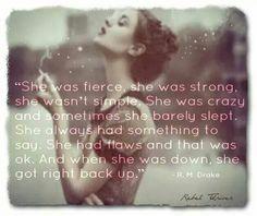 I am woman, hear me roar.