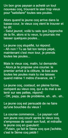 Blagues de basse cour Rage, Funny French, Funny Quotes, Funny Memes, Some Jokes, Lol, Wtf Funny, Best Memes, Writing Prompts
