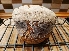 Köles- és barna rizslisztes cipó kovásszal élesztő- és gluténmentesen Muffin, Breakfast, Food, Breakfast Cafe, Muffins, Meal, Eten, Hoods, Meals