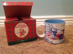 Winnie the Pooh Winter Wonderland Mug 1996