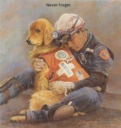 In the wake of the 9/11 terrorist attacks, over 350 trained search and rescue dogs responded to Ground Zero and the Pentagon.The aftermath of 9/11 saw the largest deployment of SAR (search-and-rescue) dogs in U.S. history.
