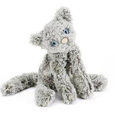 Jellycat kat bamse - Silver Kooky Cat ~ www.banditten.com
