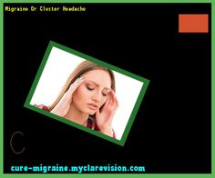 Migraine Or Cluster Headache 173355 - Cure Migraine