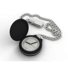 OCHIVE BLACK  Pocket Watch: modern excellence