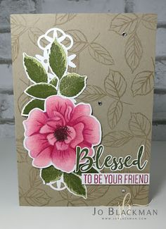 To a Wild Rose Good morning and thank you for dropping by. I attended On Stage recently, a celebration event of everything Stam. Tarjetas Stampin Up, Stampin Up Cards, Flamingo Lights, Hand Made Greeting Cards, Stampin Up Catalog, Flower Center, Friendship Cards, Diy Cards, Craft Cards