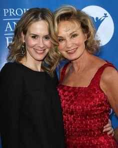 The ONLY truly perfect women in this world<3 XOXO Sarah Paulson and Jessica Lange