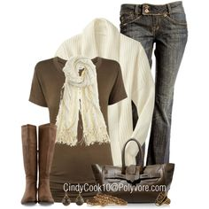 """Brown Eyed Girl"" by cindycook10 on Polyvore"