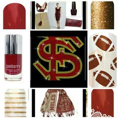 Complete your game day look with Jamberry.