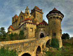 Castles : Austria Leoben CASTLE KREUZENSTEIN - Cities