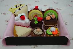 Cake obsession - the whole set, via Flickr.