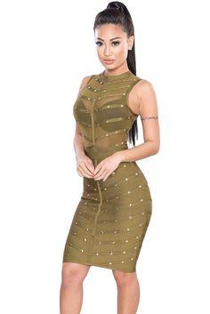 Pinterest Bandage Dress