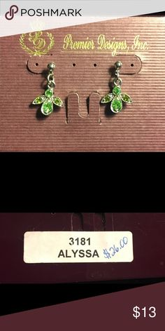 Alyssa drop earings by Premier Designs Drop earrings by Premier Designs also listed with necklace Premier Designs Jewelry Earrings