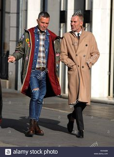 Stock Photo - DSQUARED 2 fashion designers, Dean and Dan Caten spotted walking through downtown Milan Featuring: Dean Caten, Dan Caten Where: Milan, Italy When: 28 Oct 2017 Credit Look Man, Oct 2017, Milan Italy, Gentleman Style, Italian Style, Scuba Diving, Fashion Men, Fashion Designers, Men's Style