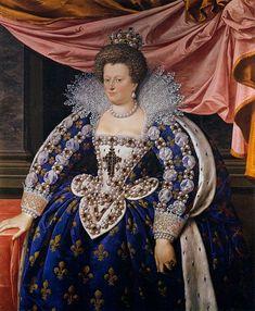 Frans Pourbus the younger (1569–1622)   TitlePortrait of Marie de Médici  Date1611